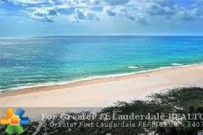 Lauderdale By The Sea Condo/Townhouse For Sale: 4900 N Ocean Blvd #410