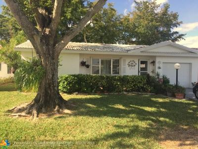 Plantation Single Family Home For Sale: 1411 NW 87th Ln