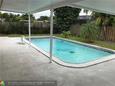 Sunrise Single Family Home Backup Contract-Call LA: 11640 NW 31st St