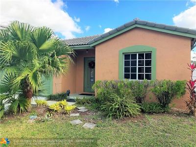 Miramar Single Family Home For Sale: 2301 SW 106th Ave