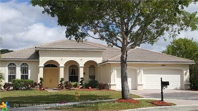 Cooper City Single Family Home For Sale: 4768 Citrus Way