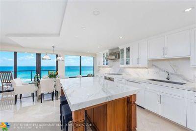 Boca Raton Condo/Townhouse For Sale: 250 S Ocean Blvd #6-B