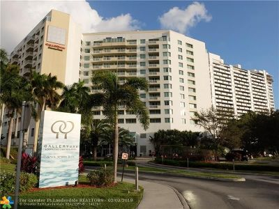 Fort Lauderdale Condo/Townhouse For Sale: 2670 E Sunrise Blvd #920