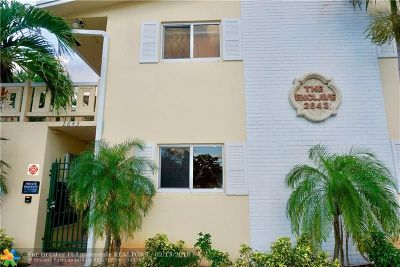 Wilton Manors Condo/Townhouse For Sale: 2643 NE 8th Ave #7