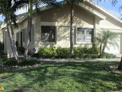 Coconut Creek Single Family Home For Sale: 4485 NW Cordia Cir