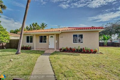 Hollywood Single Family Home For Sale: 523 S 16th Ave