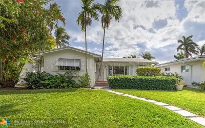 Hollywood Single Family Home For Sale: 1310 Fillmore St