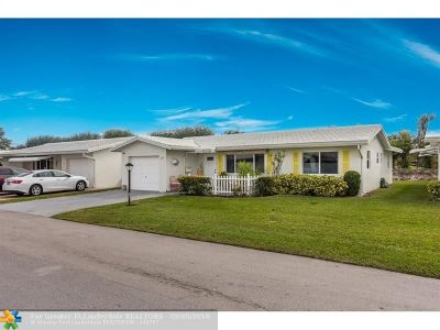 Boynton Beach Single Family Home For Sale: 1606 SW 14th Ave