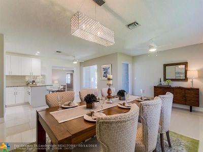 Plantation Single Family Home For Sale: 5492 SW 1st St
