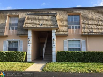 Plantation Condo/Townhouse For Sale: 360 NW 69th Ave #203A