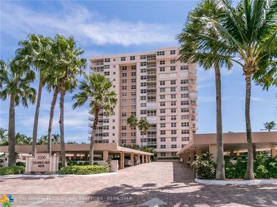 Lauderdale By The Sea Condo/Townhouse For Sale: 5200 N Ocean #107