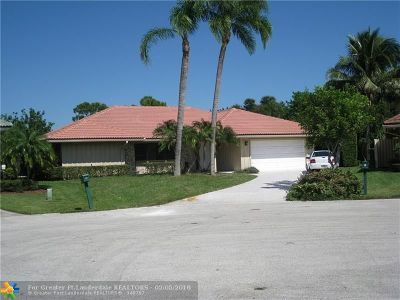 Palm Beach Gardens Single Family Home For Sale: 5 Bentwood Rd