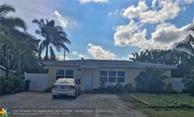 Oakland Park Multi Family Home Backup Contract-Call LA: 380 NW 43rd Ct
