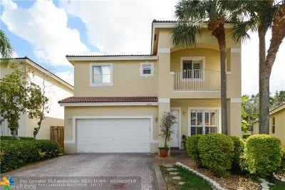 Pembroke Pines Single Family Home For Sale: 1855 NW 76th Way