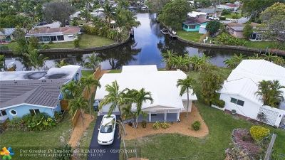 Oakland Park Single Family Home Backup Contract-Call LA: 3381 NW 18th Ave