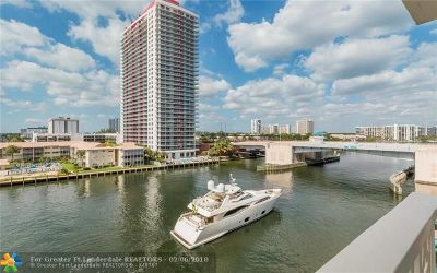 Hallandale Condo/Townhouse For Sale: 1817 S Ocean Dr #620