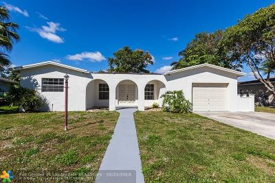 Margate Single Family Home For Sale: 770 SW 50th Ave