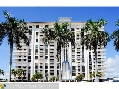 Hollywood Condo/Townhouse For Sale: 1600 S Ocean Dr #18-D