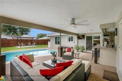 Plantation Single Family Home Backup Contract-Call LA: 5220 SW 9th Ct
