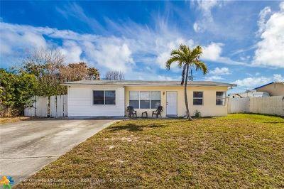 Pompano Beach Single Family Home Backup Contract-Call LA: 2500 NE 9th Ter
