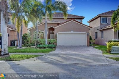 Coconut Creek Single Family Home For Sale: 5153 Woodfield Way