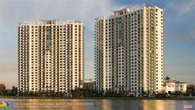 Sunrise Condo/Townhouse For Sale: 2641 N Flamingo Rd #801N