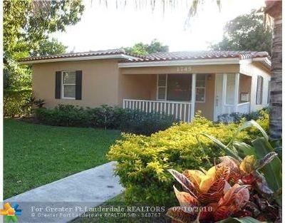 Fort Lauderdale Single Family Home For Sale: 1745 NE 17th Ter