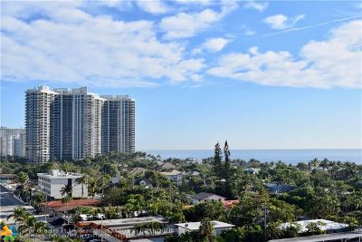 Fort Lauderdale Condo/Townhouse For Sale: 2831 SE Ocean Blvd #805N