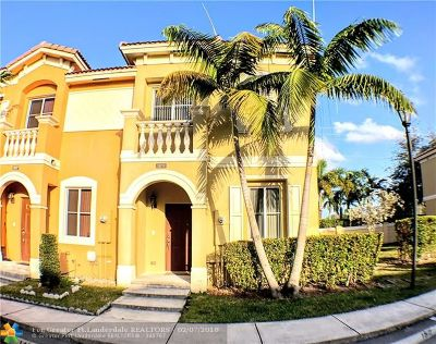 Miramar Condo/Townhouse For Sale: 1831 SW 89th Ter #1831