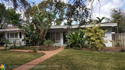 Hollywood Single Family Home For Sale: 5727 Harrison St