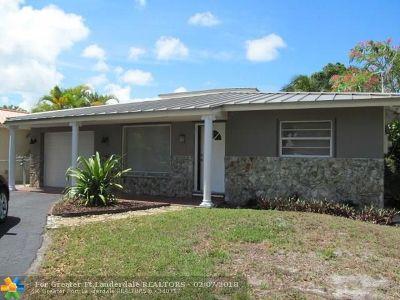Oakland Park Single Family Home For Sale: 1337 NE 35th St