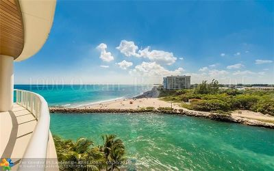 Boca Raton Condo/Townhouse For Sale: 1000 S Ocean Blvd #501