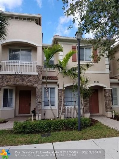 Miramar Condo/Townhouse For Sale: 2590 SW 82nd Ave #107