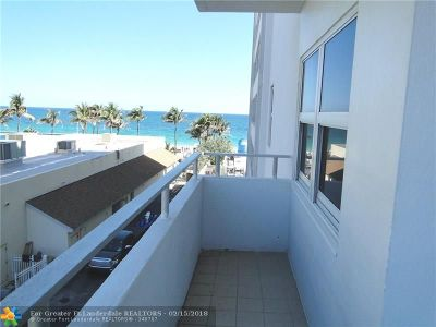 Fort Lauderdale Condo/Townhouse For Sale: 4040 Galt Ocean Dr #323
