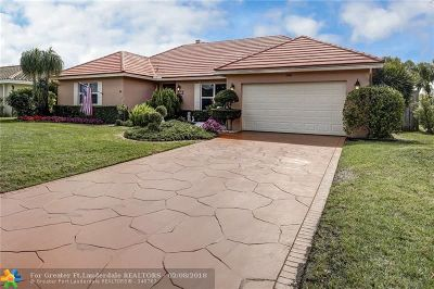 Coral Springs Single Family Home For Sale: 8970 NW 21st St