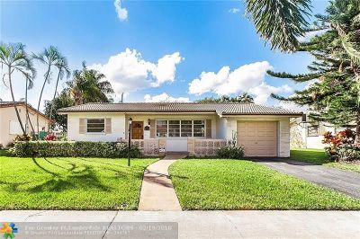 Hollywood Single Family Home For Sale: 4206 Roosvevelt St.