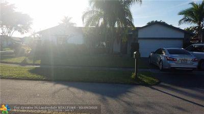 Sunrise Single Family Home Backup Contract-Call LA: 3151 NW 98th Ave