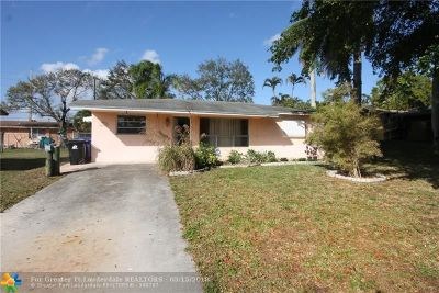 Fort Lauderdale Single Family Home Backup Contract-Call LA: 1823 SW 29th St