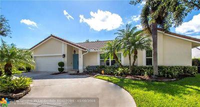 Coconut Creek Single Family Home Backup Contract-Call LA: 4554 NW 50th Ct