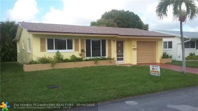 Tamarac Single Family Home For Sale: 4901 NW 45th Ave