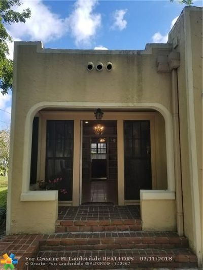 Fort Lauderdale Single Family Home For Sale: 734 W Las Olas Blvd