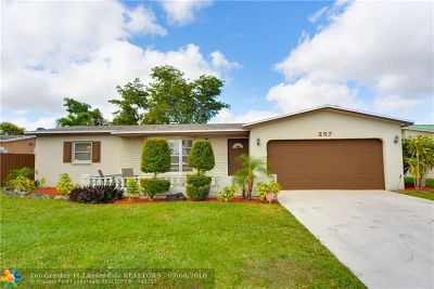 Margate Single Family Home Backup Contract-Call LA: 257 NW 79th Ave