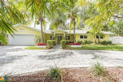 Fort Lauderdale Single Family Home For Sale: 2411 SW 29th Way
