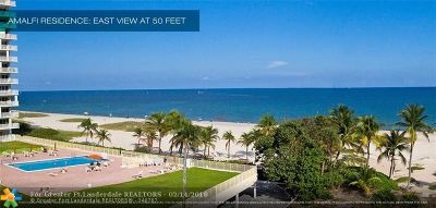Pompano Beach Condo/Townhouse Backup Contract-Call LA: 730 N Ocean #1501