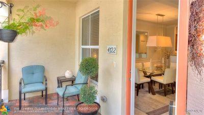 Coconut Creek Condo/Townhouse Backup Contract-Call LA: 4722 Monarch Way #4722