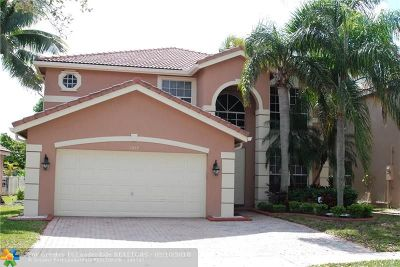 Coral Springs Single Family Home For Sale: 11952 NW 54th Pl