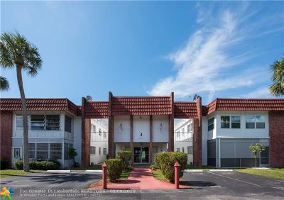 Lauderhill Condo/Townhouse For Sale: 4801 NW 22nd Ct #109
