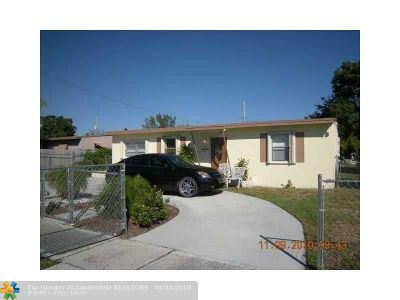 Fort Lauderdale Single Family Home For Sale: 927 NW 12th St