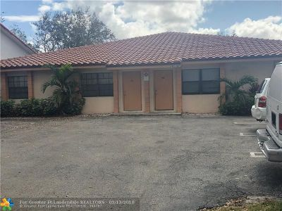 Coral Springs Multi Family Home For Sale: 11560 NW 37th St
