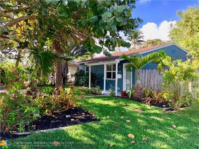 Fort Lauderdale Single Family Home For Sale: 1345 NW 6th Ave